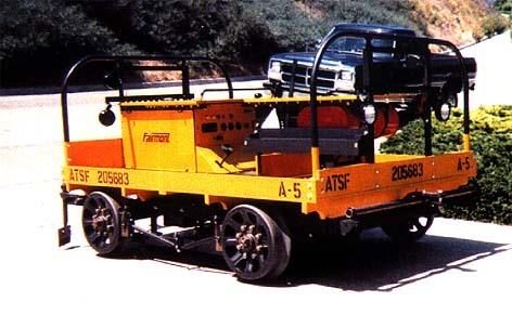 Rail Car Gang Car A-5