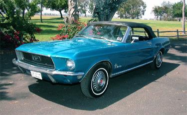 Mustang, Convertible