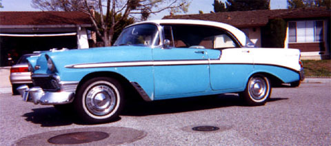 Bel Air, 4 Door Hardtop