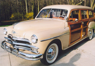 Woodie Woody Station Wagon