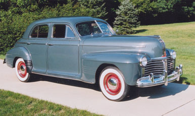 1941 pontiac 4 door sedan 119 inch wheelbas